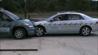 Dodge Grand Caravan Vs. Honda Accord NHTSA Frontal Offset Impact