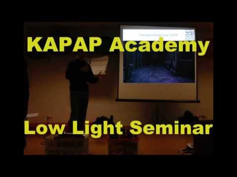 KAPAP Academy Karlsruhe Low Light Seminar