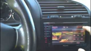 BMW E36 328i Conv. Interior with Double DIN DVD
