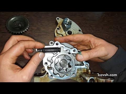 Принцип действия регулируемого масляного насоса на ДВС Volkswagen FSI 1.4 и 1.6