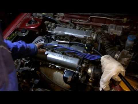 Nissan primera p10 замена цепи ГРМ методом протяжки