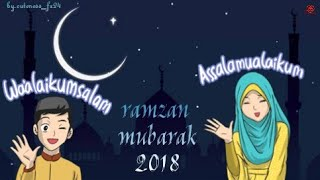 Ramzan naat 2018 WhatsApp status | noor e ramzan | cuteness_fz24