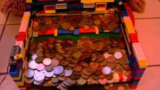 getlinkyoutube.com-Really big Lego Coin-Pusher