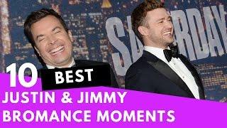 Top 10 Justin Timberlake & Jimmy Fallon Bromance Moments!