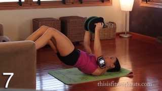 Couch, That Hurts! From Couch to Fit Quickie Workout! (Real Time Workout)