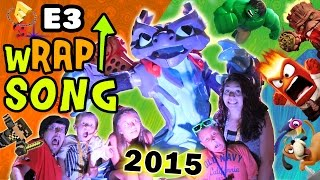 getlinkyoutube.com-E3 2015 wRAP UP Song! (FREE DOWNLOAD) SKYLANDERS SUPERCHARGERS, INFINITY, PVZ, JUST DANCE & MORE!
