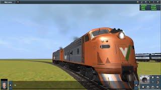 getlinkyoutube.com-THE SILLY TRAIN PARTY!! (Trainz Simulator)