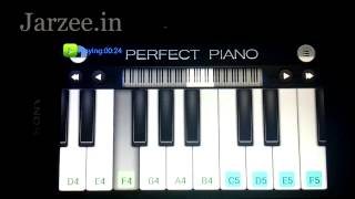 "getlinkyoutube.com-Tum Hi Ho ""Aashiqui 2"" Song Easy Mobile Perfect piano tutorial"