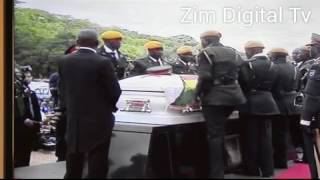 WATCH how ZNA bury and salute National Heroes at the shrine width=