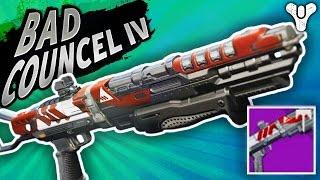 getlinkyoutube.com-HOLD the Matador 64 and try this Vendor Shotgun - Bad Counsel IV   Destiny (Rise of Iron) Year 3