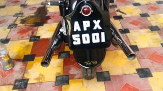 getlinkyoutube.com-Norton Dominator TWIN 1951 Model..Proudly owned by Actor Danish Khan