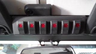 getlinkyoutube.com-How To: sPOD installation on Jeep Wrangler (RockTrooper)
