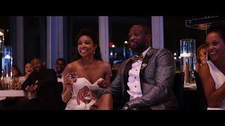 getlinkyoutube.com-Gabrielle Union & Dwyane Wade Wedding Trailer