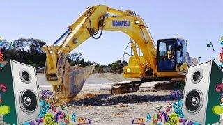 getlinkyoutube.com-Excavator Song -  Kids Truck Music Video