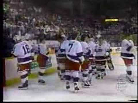 Last Winnipeg Jets Game Ever ( Final 20 Seconds )