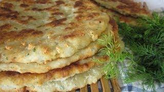 getlinkyoutube.com-Рецепт - Сырные лепёшки