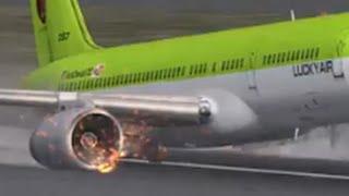 getlinkyoutube.com-FSX B757-200 crash landing unable to taxi