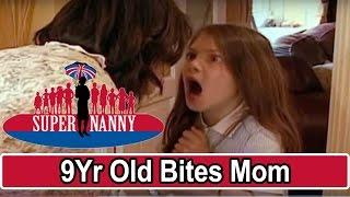getlinkyoutube.com-9Yr Old Bites Mom For Taking Her Phone! | Supernanny USA