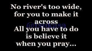 getlinkyoutube.com-I'm Your Angel (Lyrics) - Celine Dion duet w/ R. Kelly