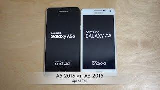 getlinkyoutube.com-Samsung Galaxy A5 2016 vs. Samsung Galaxy A5 2015 - Which Is Faster?