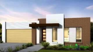 getlinkyoutube.com-Planos de casas de un piso incluye fachadas modernas