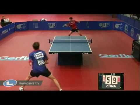 Quentin Robinot vs Tristan Flore[Final European Youth Single Championships 2011]