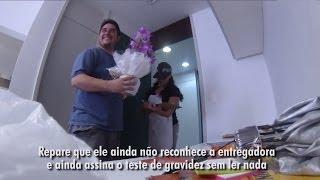 getlinkyoutube.com-Dando a notícia da gravidez | Thiago e Luciana