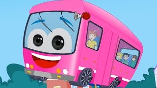 getlinkyoutube.com-Wheels on the bus, Nursery Rhymes, Kids Songs, Children's songs