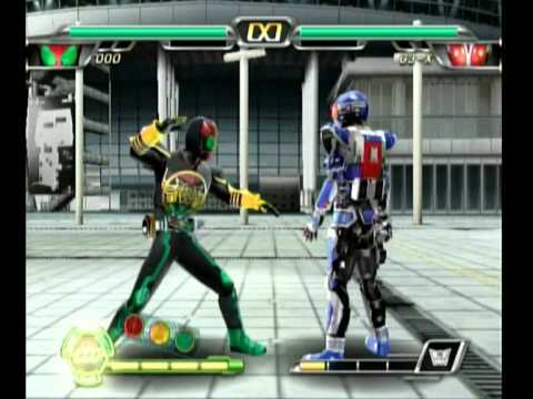 Kamen Rider Climax Heroes OOO: Showing OOO's moves