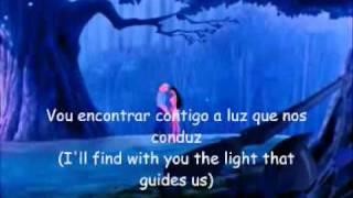 getlinkyoutube.com-Pocahontas - Between two Worlds (EU Portuguese) *Lyrics*