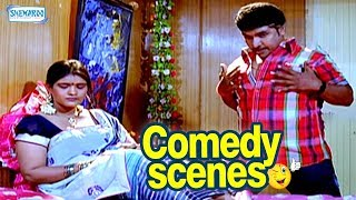 Brundavana Comedy Scenes - Kannada Comedy - Darshan Comedy