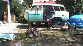 Custom 1959 Holden build up in front yard Part 1