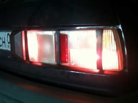 Осветленная задняя оптика на ИЖ2126