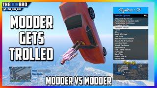 getlinkyoutube.com-GTA 5 ONLINE - MODDER GETS TROLLED - MODDDER VS MODDER WAR (FUNNY MOD MENU TROLLING)