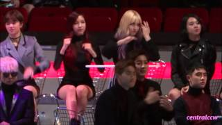 getlinkyoutube.com-[FANCAM] 151202 Mama2015 behind the scene 05 Twice 定延+Mina+Momo