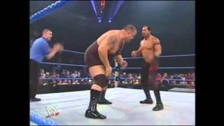 getlinkyoutube.com-Brock Lesnar   Big Show vs The APA 10 30 2003   YouTube