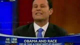 FOX ANCHOR walks off over Obama BASHING!