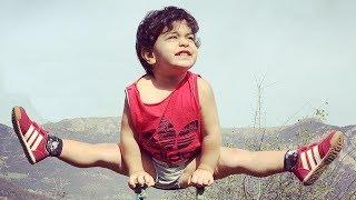 getlinkyoutube.com-Arat  Hosseini - gymnastics sensation  2 Year Old Boy