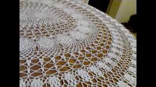 getlinkyoutube.com-Crochet tablecloth