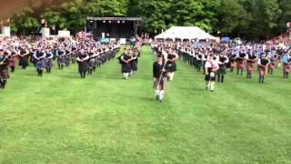 getlinkyoutube.com-Fergus Scottish Festival 2012 Massed Bands