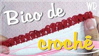 getlinkyoutube.com-Bico de crochê fácil e completo para iniciante #10