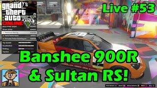 getlinkyoutube.com-Banshee 900R & Sultan RS Benny's Showcase! - GTA Live #53