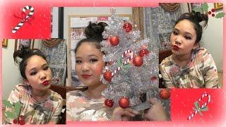 getlinkyoutube.com-CHRISTMAS HOLIDAY MAKEUP LOOK #1