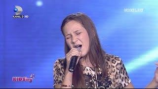 getlinkyoutube.com-Tatiana Stefan canta One - Finala - KIDSing 2014