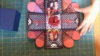 getlinkyoutube.com-Caixa/cartao-surpresa - Exploding box scrapbook.wmv