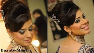Wedding Makeup - Victorian Look With Indian Touch