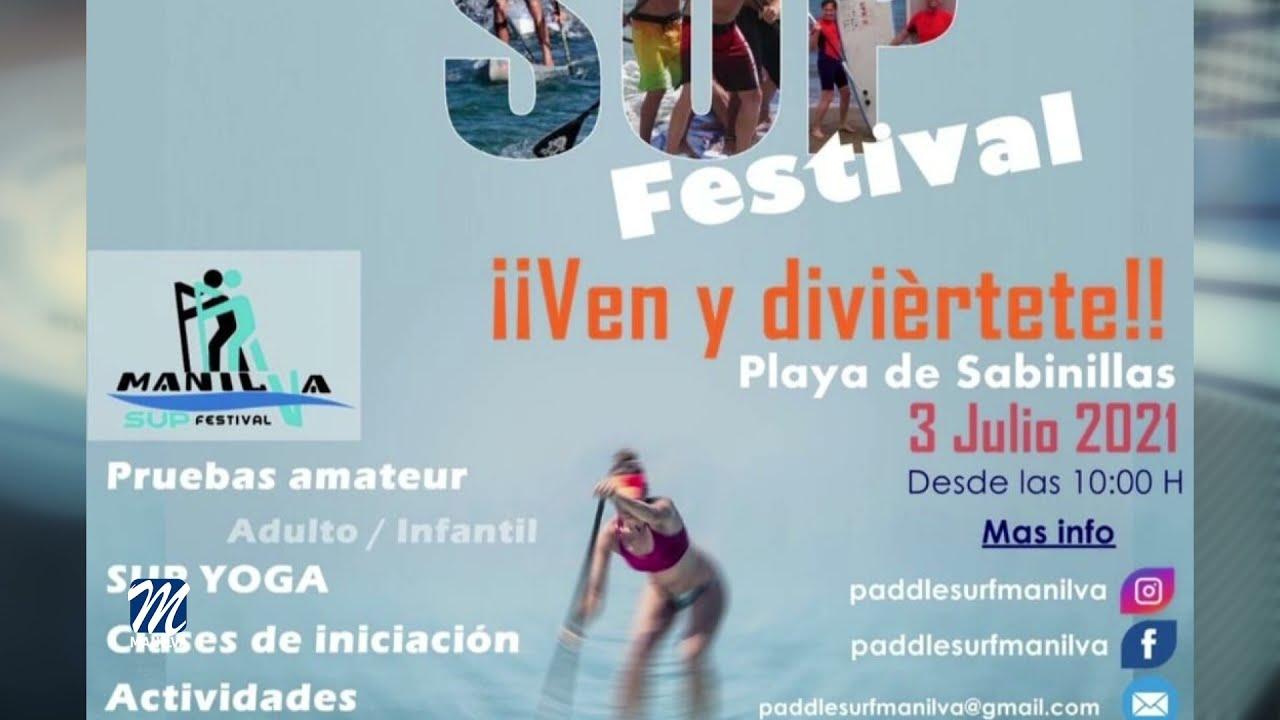 El 3 de julio se celebras el Manilva SUP Festival
