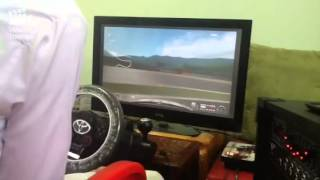 هجوله على دركسون GT مع الطاره مهستر طرب