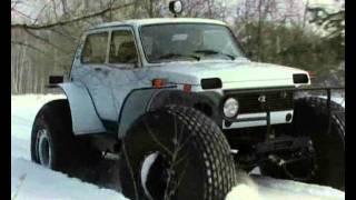 getlinkyoutube.com-Снегоболотоход внедорожник МАРШ