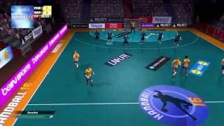 getlinkyoutube.com-[PS4] handball 16 PSG-BARCELONE